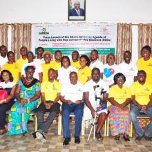 Launch of the Ghana Advocacy Agenda of People Living with NCDs