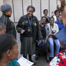 Images of empowerment - group of women takes action on NCDs