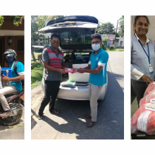 Young leaders mobilise during lockdown in Sri Lanka to deliver life-saving treatment