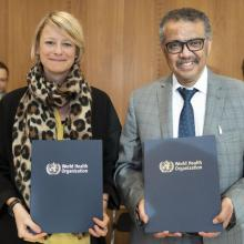 NCDA and WHO formalise a decade-long collaboration