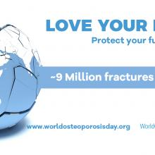 Graphic for World Osteoporosis Day 2017