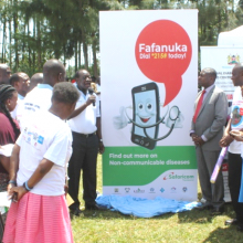 The Governor of Vihiga County, H.E. Hon Dr Wilber K. Ottichilo, CBS, launches Fafanuka