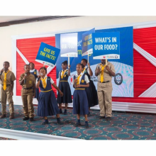 What's in our food? – launch of media campaign in Jamaica