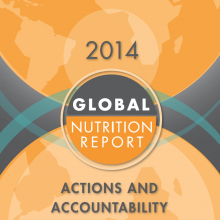 Public Event: Key Findings of the Global Nutrition Report 2014
