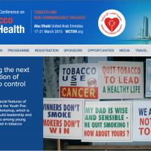 World Conference on Tobacco or Health: Registration is open