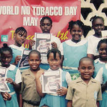 New report: Civil Society Led Tobacco Control Advocacy in the Caribbean - experiences of the Jamaica Coalition for Tobacco Control