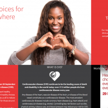 Today is World Heart Day: Support #heartchoices