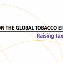 WHO report on the global tobacco epidemic 2015 launched
