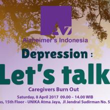 World Health Day 2017, Indonesia: Depression, Let's Talk