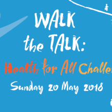 Join NCD Alliance as we Walk the Talk with WHO and partners because together we can beat NCDs.