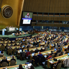 Civil society calls on leaders to ensure health for all at UN hearing