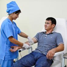 Blood Center - Tashkent, Uzbekistan