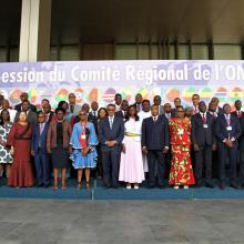 69th session of the WHO Regional Committee for Africa © WHO AFRO