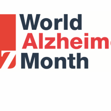 World Alzheimer's Month logo