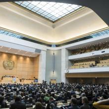 World Health Assembly 70 ©️ NCD Alliance