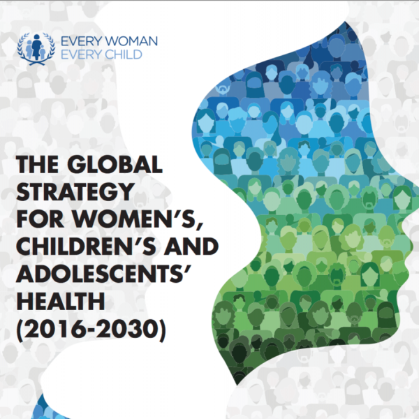 Global Strategy for Women Child Health cover