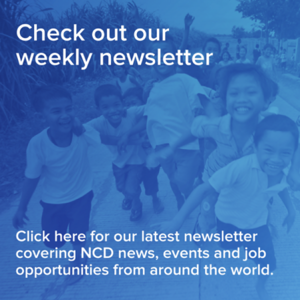 weekly news letter from NCD
