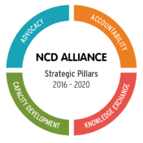 NCD Alliance Global advocacy graphic