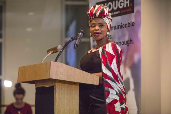 Zoleka Mandela, Global Ambassador, Child Health Initiative, FIA Foundation