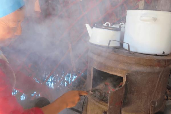 Cooking smoke FRESHAIR
