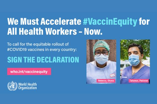 Defendamos la equidad de las vacunas