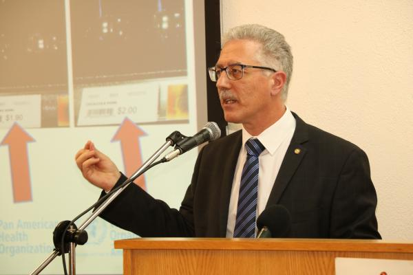 Dr Godfrey Xuereb, Pan American Health Organisation Representative for Barbados