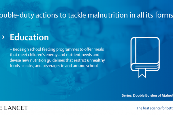 Manifesto on the Double Burden of Malnutrition | The Lancet - Education