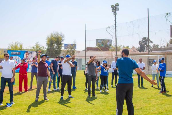 Egyptian NCD Alliance coordinated workplace wellness activities for their 2019 Week for Action