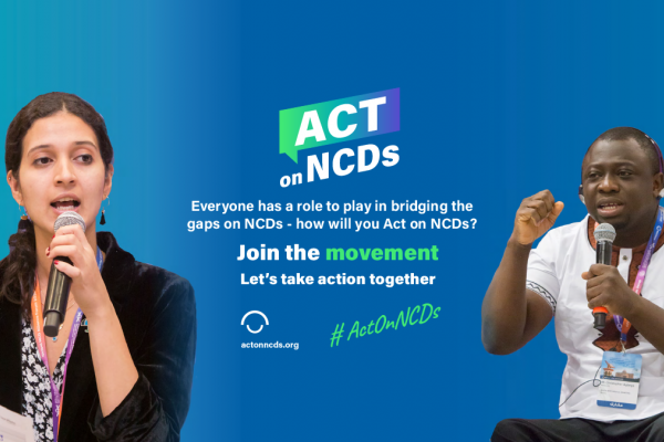 2020 Global Week for Action on NCDs website revealed