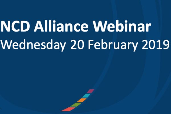 NCD Alliance Webinar, 20 February 2019