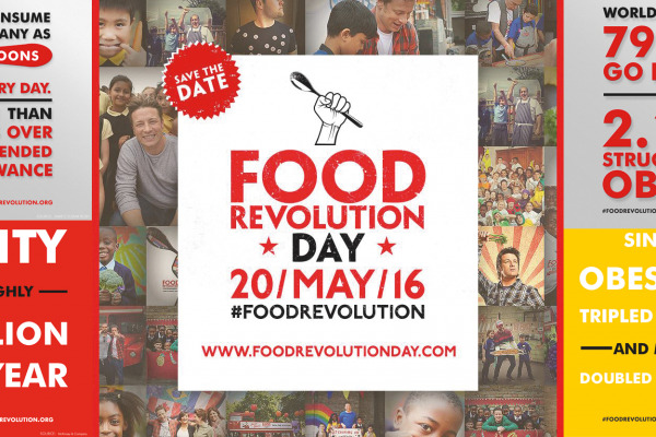 The Food Revolution has started!