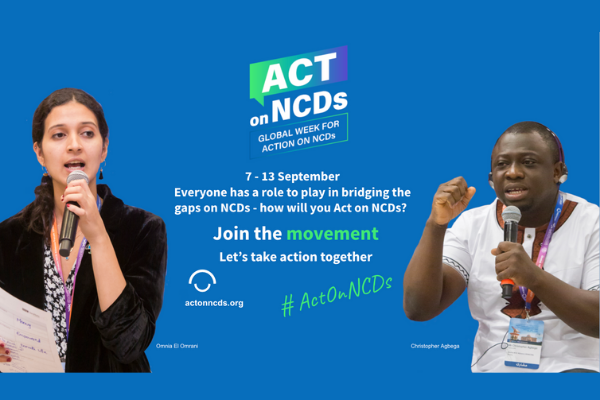 How will you Act On NCDs?