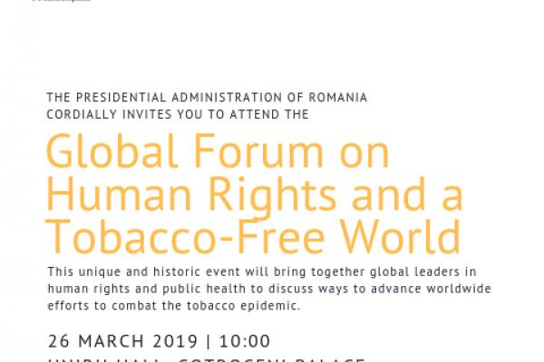 Global Forum on Human Rights and a Tobacco Free World
