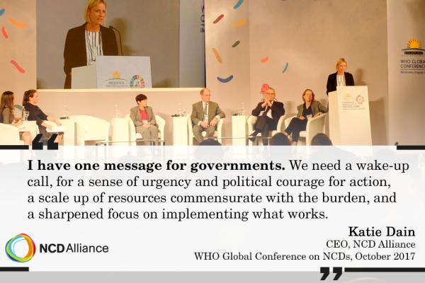 Katie Dain - where's the sense of urgency, the leadership, the funding?