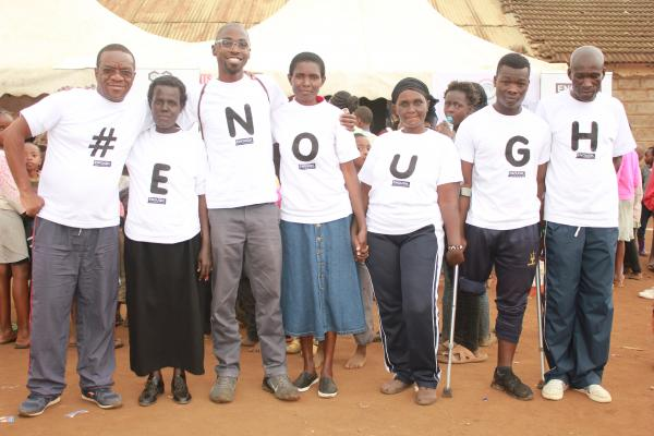NCD Alliance Kenya held a community fun day including awareness raising of NCD risk and care and screening during the 2019 W4A on NCDs
