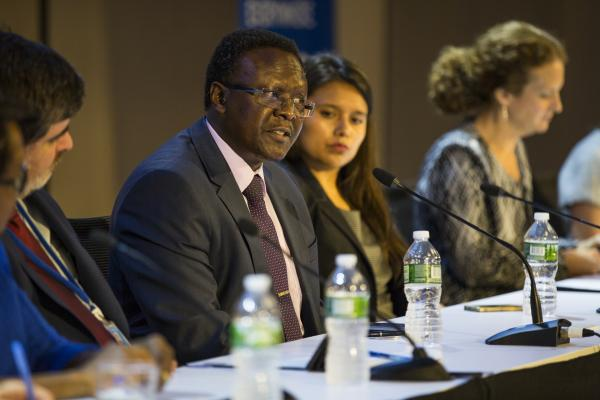 Dr Gerald Yonga, Professor of Medicine and Head of NCD Research to Policy Unit at Aga Khan University, East Africa, and Chair of NCD Alliance Kenya - @Adam Watt
