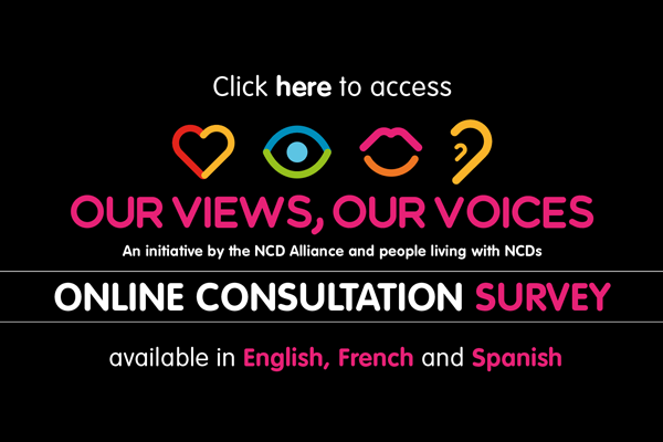 "Participate in our online survey for ""Our Views, Our Voices"""