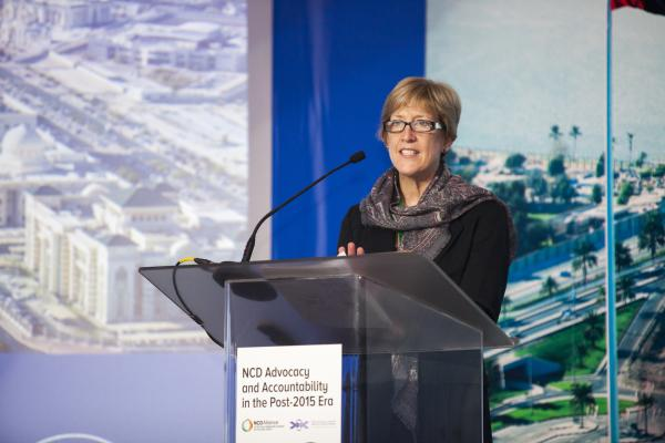 Dr. Rachel Nugent, Vice President, Global Noncommunicable Diseases, RTI International