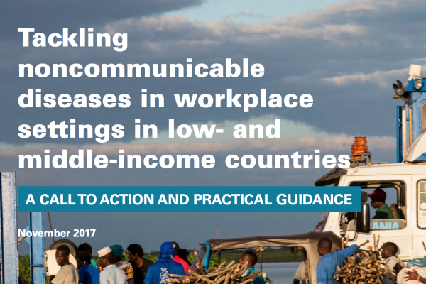 Tackling noncommunicable diseases in workplace settings in LMICs