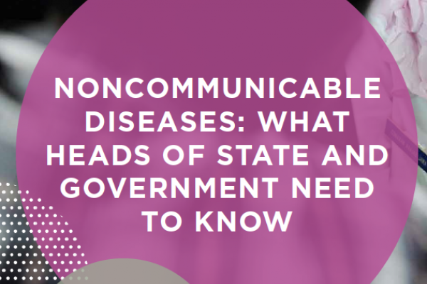 What government ministries need to know about NCDs