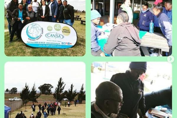South African NCDs Alliance worked with its members to hold a Week for Action on NCDs community event in Soweto with fun walk, screening and information
