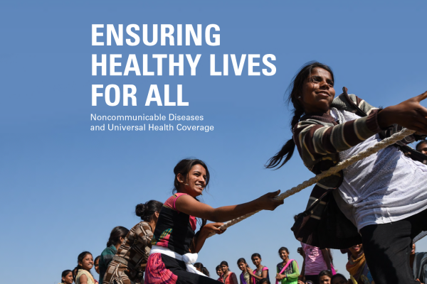 Updated brief highlights mutually reinforcing agenda of UHC, NCDs