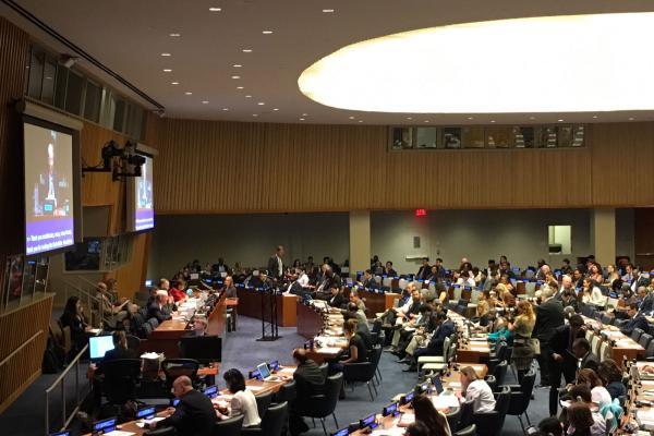 ECOSOC HLPF progress review of SDG3