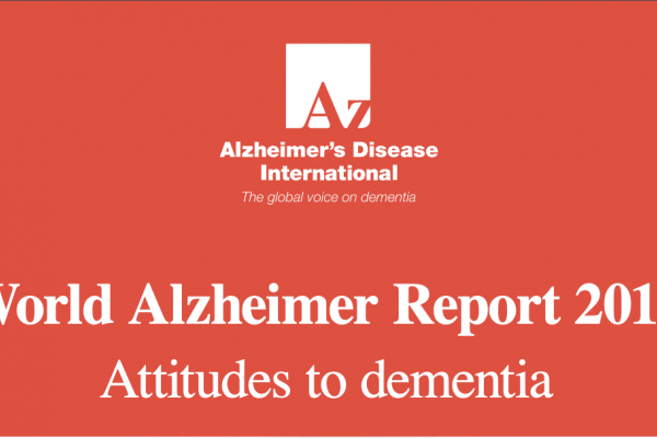 World Alzheimer Report 2019: Attitudes to dementia