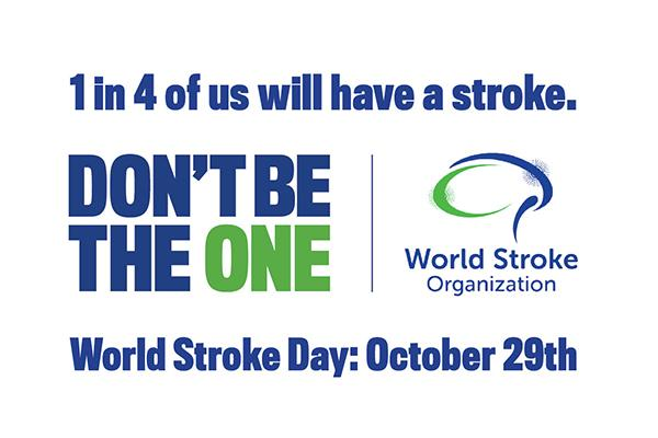 World Stroke Day 2019: Don't be the one