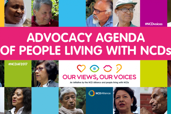 Advocacy Agenda of People Living with NCDs takes centre stage