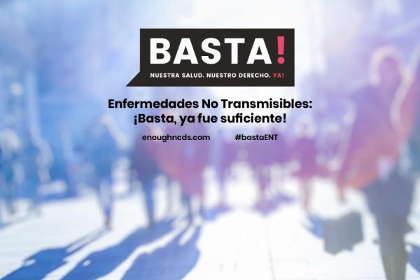 Lanzamiento del sitio web de la campaña ¡Basta!