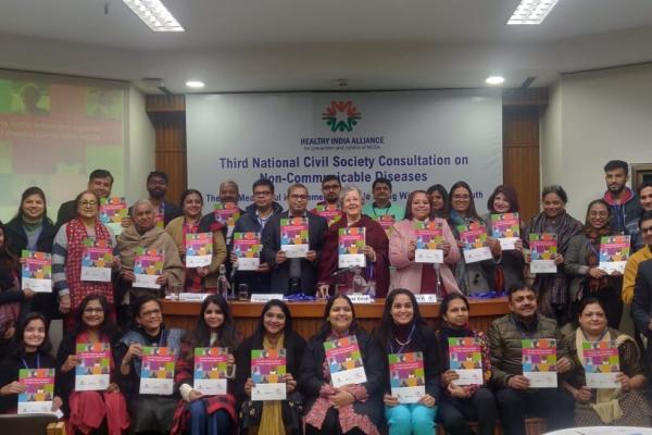 Launch of the India Advocacy Agenda of People Living with NCDs