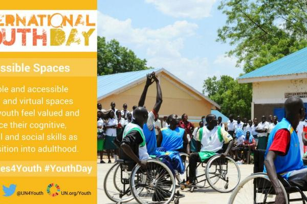 Youth Day 2018 - Safe spaces for youth