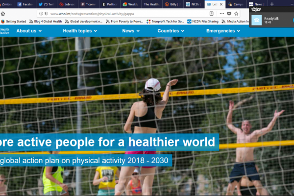 Physical activity in Latin America: new WHO plan and industry interference